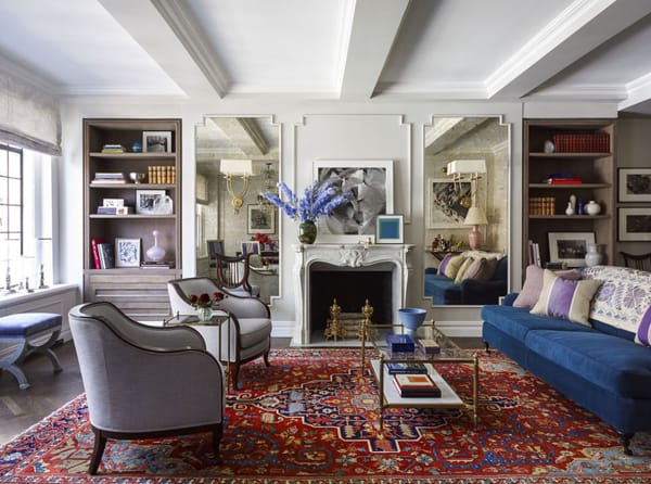 Home Tour: Emmy Rossum's Elegant NYC Apartment | HomeandEventStyling.com