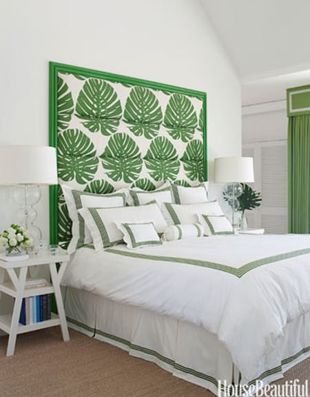 Creating a Bold Statement with Colorful Headboards | HomeandEventStyling.com