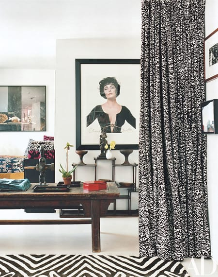 Home Tour: Diane von Furstenberg's Stylish Penthouse | HomeandEventStyling.com