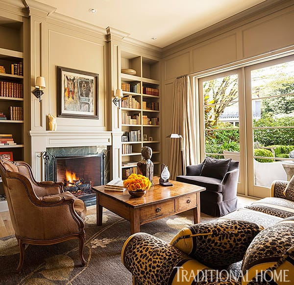 10 Inspiring Rooms with Fall Color Palettes | HomeandEventStyling.com