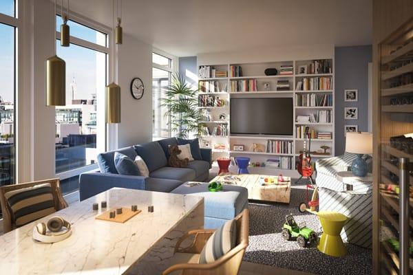 Home Tour: Gisele Bundchen & Tom Brady's Lavish New Apartment | HomeandEventStyling.com
