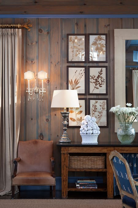 Giving a Room Character with Paneled Walls | HomeandEventStyling.com