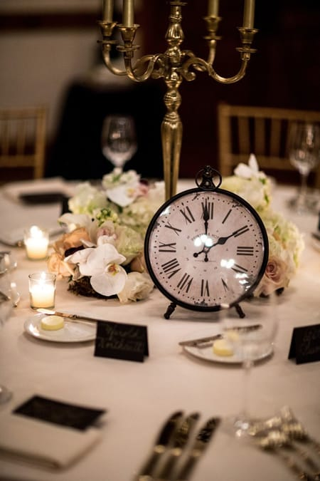 Fabulous New Year's Eve Table Setting Inspiration | HomeandEventStyling.com