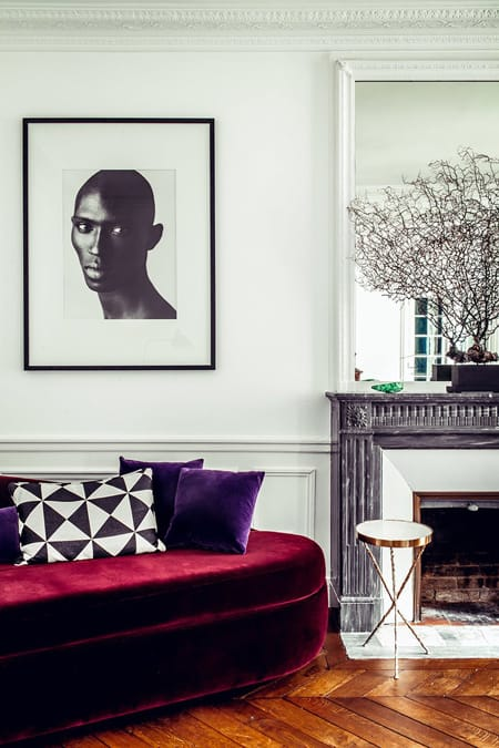 Home Tour: Hilary Swank's Fashionable Paris Apartment | HomeandEventStyling.com