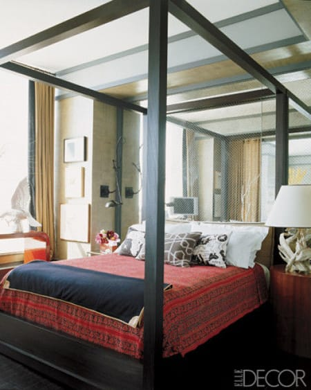The Marvelous Look of Mirrors Behind the Bed | HomeandEventStyling.com