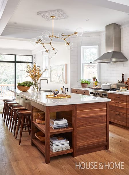 10 Spaces With Brilliantly Mixed Wood Tones | HomeandEventStyling.com