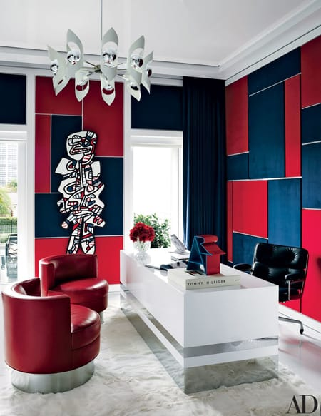 Home Tour: Tommy Hilfiger's Artistic Home in Miami | HomeandEventStyling.com
