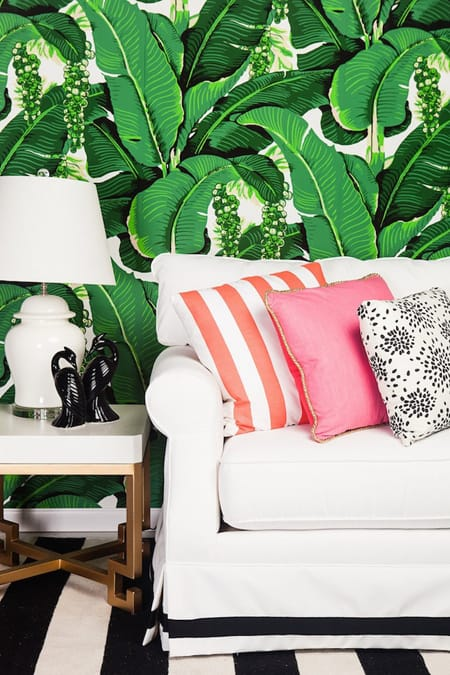 Going Bananas for Banana Leaves Decor | HomeandEventStyling.com