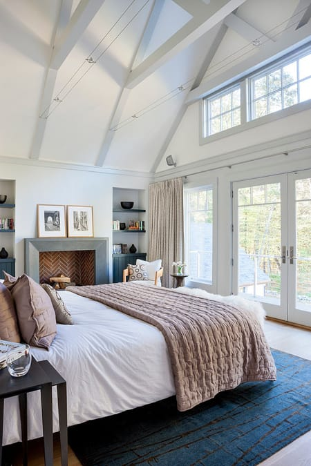 10 Cozy Bedrooms with a Fireplace | HomeandEventStyling.com