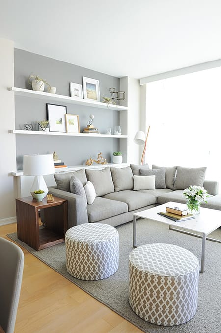 10 Glorious in Gray Rooms | HomeandEventStyling.com