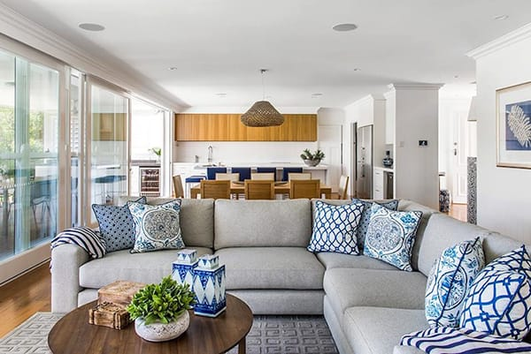 The Lovely Look of L-Shaped Sofas | HomeandEventStyling.com