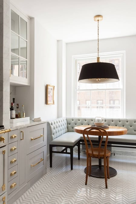10 Inspiring Breakfast Nook Ideas | HomeandEventStyling.com