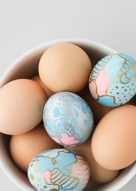 10 Creative DIY Dyed Egg Ideas to Try | HomeandEventStyling.com