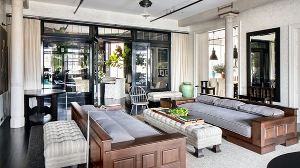 Home Tour: Meg Ryan's Chic Soho Apartment | HomeandEventStyling.com