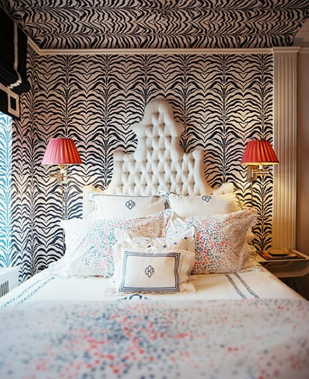 Bringing Glamour to the Bedroom with a Tufted Headboard | HomeandEventStyling.com