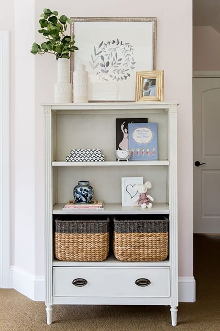 Decorating with Baskets for an Organized Look | HomeandEventStyling.com