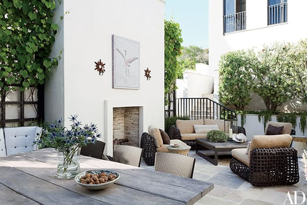 10 Charming Courtyard Patio and Garden Ideas | HomeandEventStyling.com