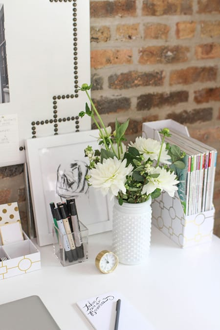 Desk Styling Ideas for Your Home Office | HomeandEventStyling.com