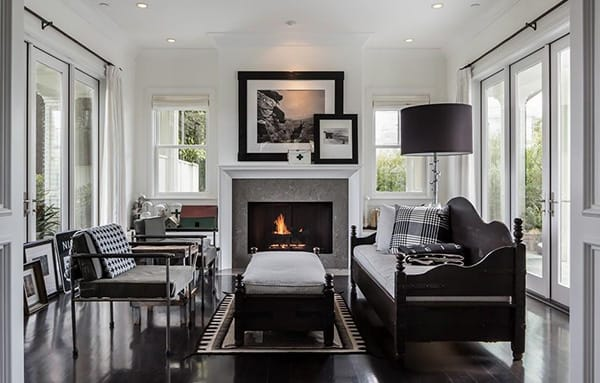 Home Tour: Diane Keaton's Industrial and Cozy LA Home | HomeandEventStyling.com