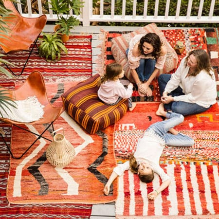 Home Tour: Josie Maran's Mother's Boho Retreat | HomeandEventStyling.com