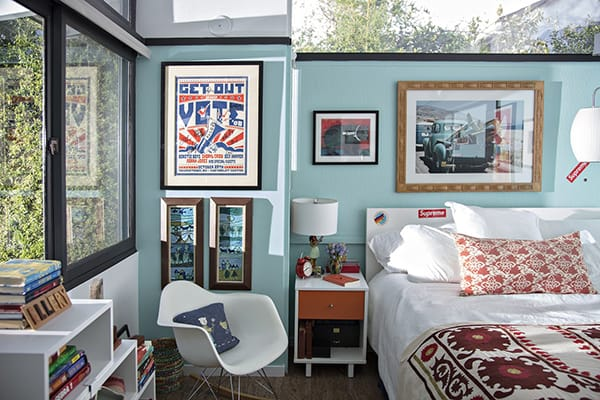 Home Tour: Laura Dern's Eclectic LA Retreat | HomeandEventStyling.com