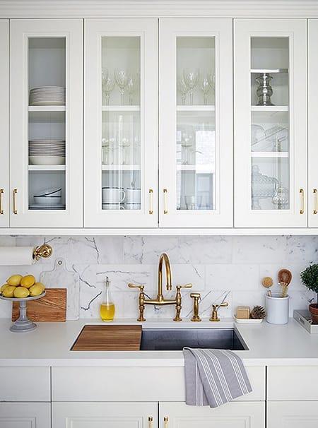 10 Marvelous Marble Backsplash Ideas | HomeandEventStyling.com