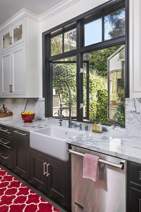 10 Charming Kitchen Sink Windows | HomeandEventStyling.com