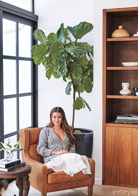 Home Tour: Lea Michele's Fresh LA Retreat | HomeandEventStyling.com
