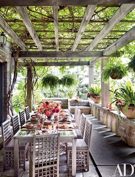 Home Tour: Martha Stewart's Cozy Maine Estate | HomeandEventStyling.com