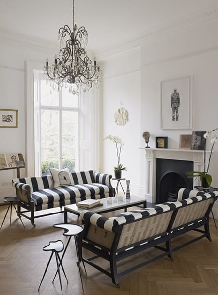 10 Splendid Ideas for Striped Furniture | HomeandEventStyling.com