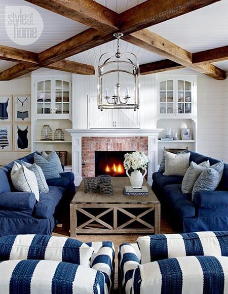 10 Splendid Ideas for Striped Furniture   HomeandEventStyling.com