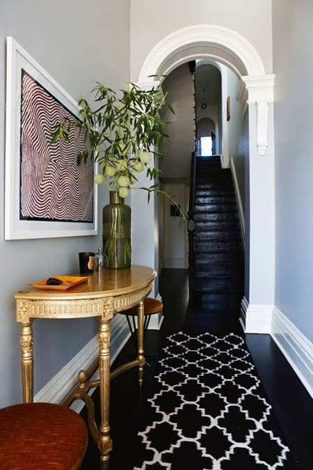 10 Gorgeous Black and Gold Interiors | HomeandEventStyling.com