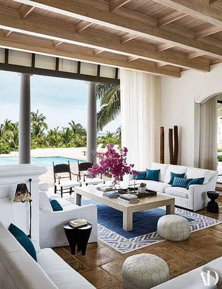 Home Tour: Faith Hill and Tim McGraw's Serene Bahamas Home | HomeandEventStyling.com