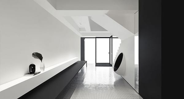 Hotel Tour: Singapore's Minimalist Black and White Hotel Mono | HomeandEventStyling.com