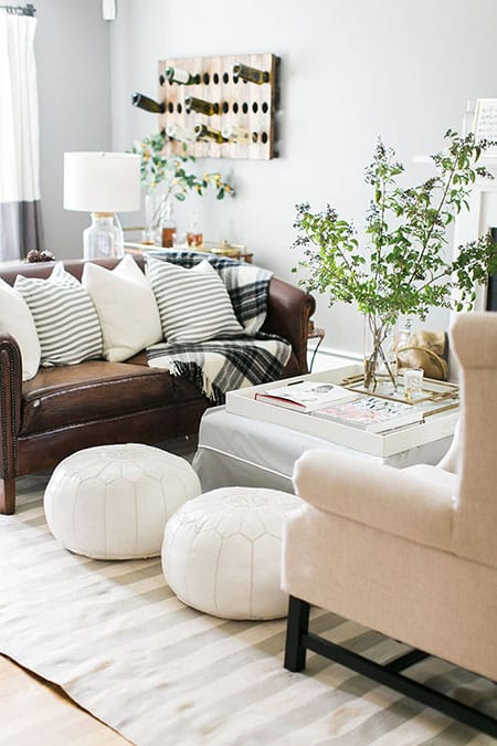 Accenting Your Space with the Perfect Pouf | HomeandEventStyling.com
