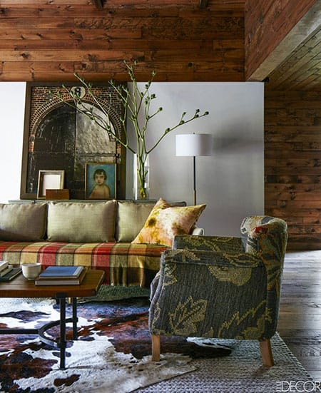 Home Tour: Amanda Seyfried's Rustic, Modern Retreat | HomeandEventStyling.com