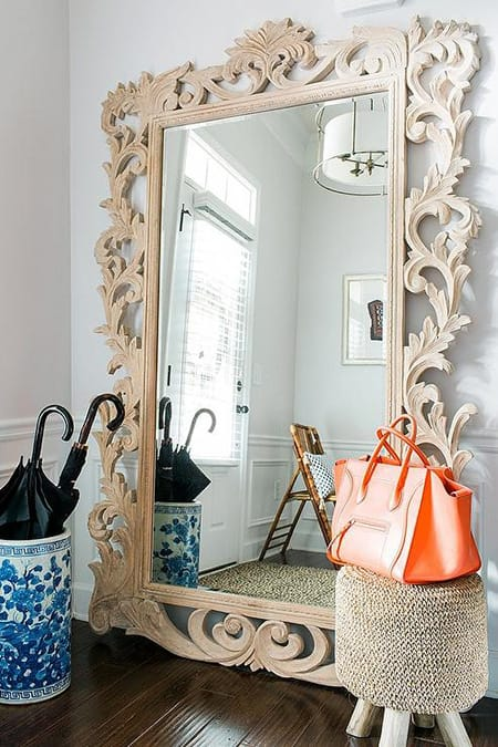 Decorating with Chic and Fabulous Floor Mirrors   HomeandEventStyling.com