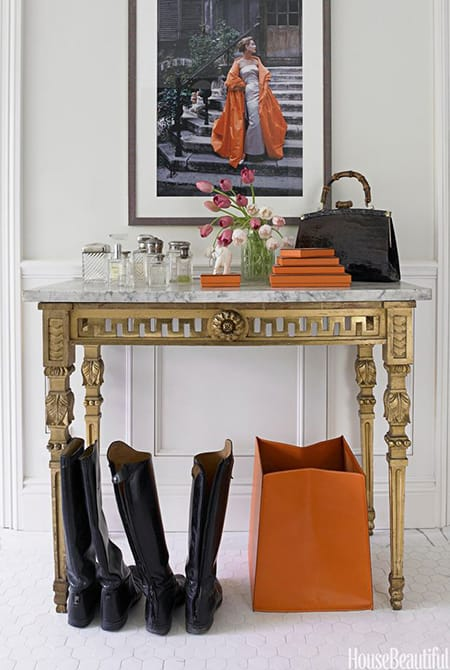 Adding Some Luxury to a Space with a Marble Table | HomeandEventStyling.com