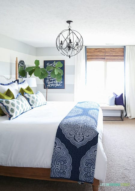 10 Inspiring Rooms with Navy Blue Decor | HomeandEventStyling.com