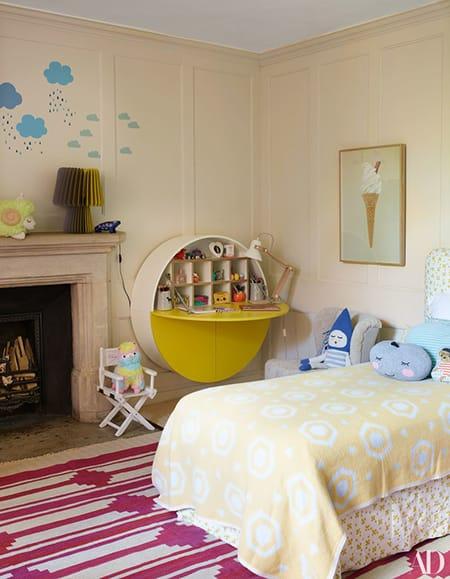 Home Tour: Claudia Schiffer's Picturesque Tudor Mansion   HomeandEventStyling.com
