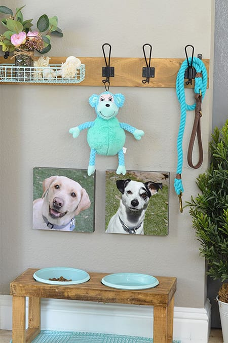 Sweet and Stylish Decorating with Dog Art | HomeandEventStyling.com