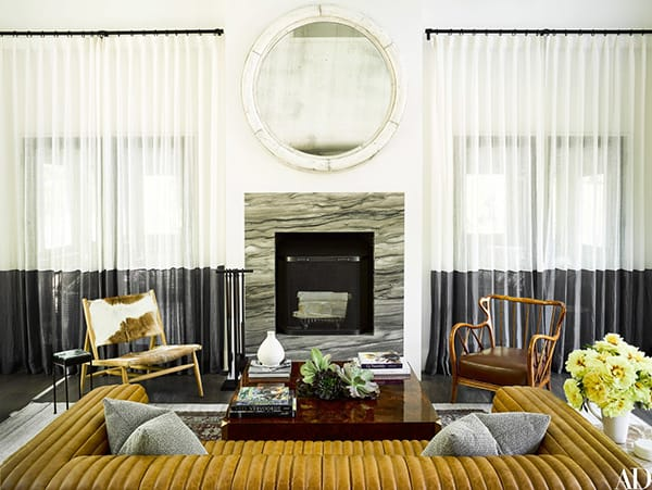 Home Tour: Ellen Pompeo's Modern and Rustic Vacation Home | HomeandEventStyling.com