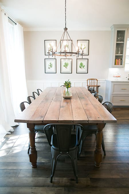 10 Chic and Cozy Farmhouse Dining Room Ideas | HomeandEventStyling.com