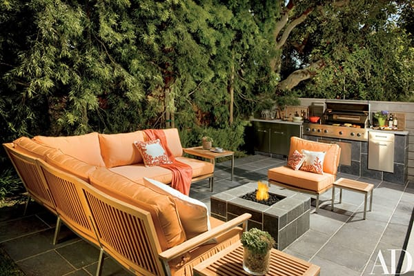 Home Tour: Giada de Laurentiis's Colorful California Bungalow | HomeandEventStyling.com