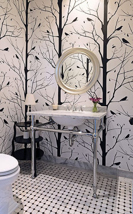 10 Rooms Featuring Wallpaper with Branches | HomeandEventStyling.com