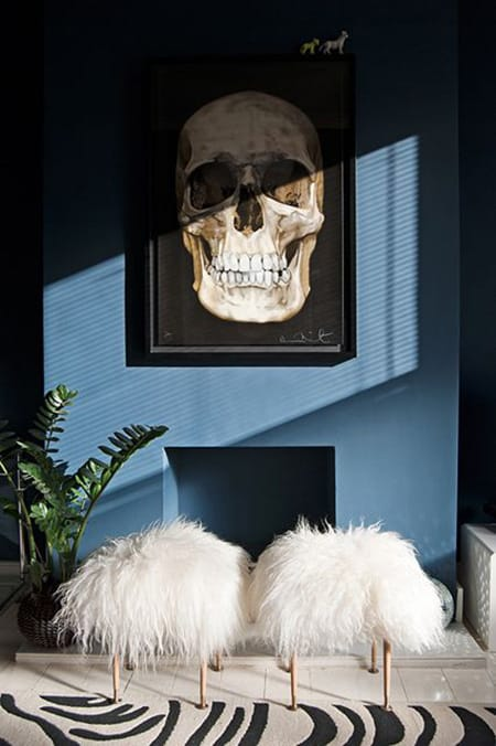 Glamorous and Fabulous Faux Fur Ottomans | HomeandEventStyling.com