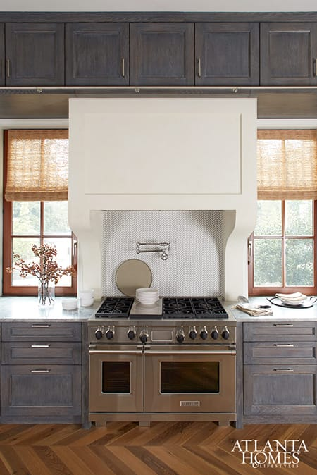The Charming Antiqued Look of Limewashed Cabinets | HomeandEventStyling.com
