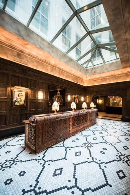 Hotel Tour: The Unique and Luxurious Beekman Hotel in NYC | HomeandEventStyling.com