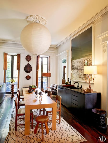 Home Tour: Julianne Moore's Elegant NYC Townhouse | HomeandEventStyling.com