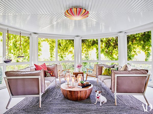 Home Tour: Robert Downey Jr.'s Whimsical Hamptons Home | HomeandEventStyling.com